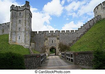 Arundel Castle Entrance, England