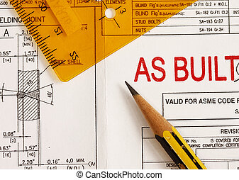 As built drawing Clipart and Stock Illustrations  801 As