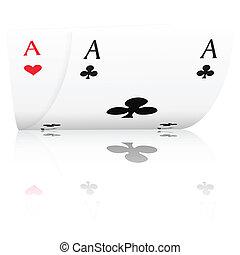 as, poker