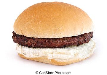 asado parrilla, bollo de hamburguesa