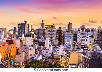 Asakusa, Tokyo, Japan Cityscape