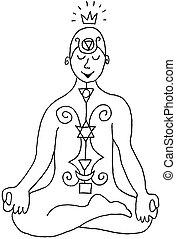 Asana Art - Kundalini - Yoga Posture