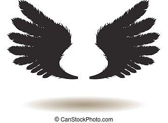 asas vetorizadas