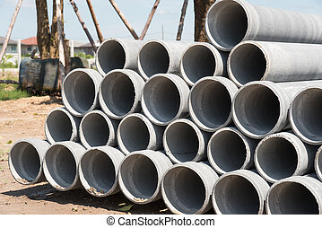 asbest, pipes., cement