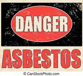 asbesto, peligro
