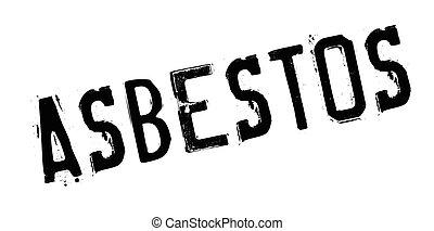 Asbestos rubber stamp