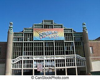 Asbury Park NJ - This is a shot of the old casino in Asbury...