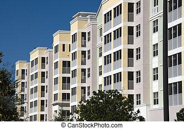 ascensão elevada, condomínios