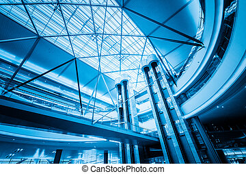 acier porte vertical ascenseur acier porte bleue photographie de stock rechercher des. Black Bedroom Furniture Sets. Home Design Ideas