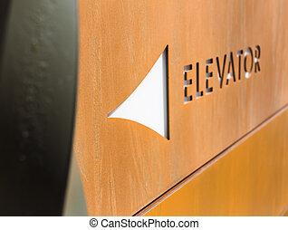 ascenseur, signe