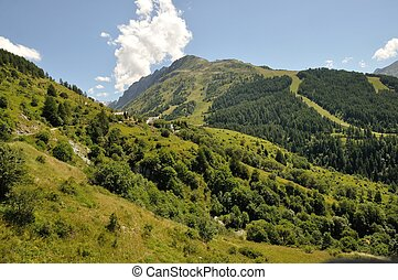 Ascent from Valloire to Brive 2