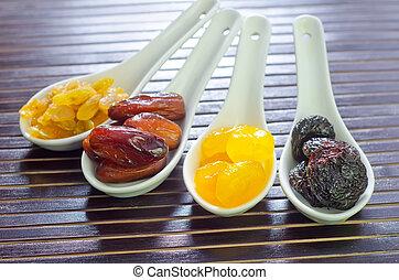 asciutto, frutta