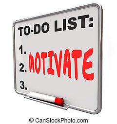asciutto, parola, ispirare, motivare, elenco, incoraggiare, cancellare, asse