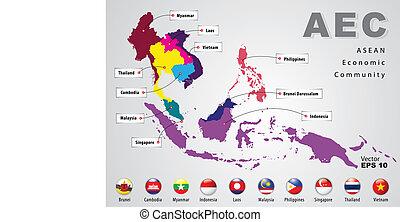 asean, gazdasági helyzet közösség