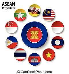 asean, ), (, naciones, sudeste, calidad de miembro, asiático, asociación