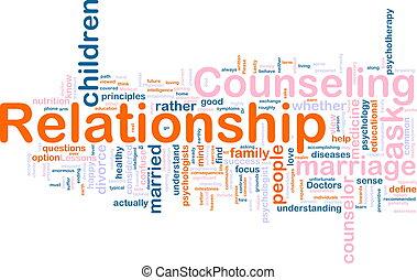 asesoramiento, relación