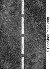 asfalt droga, struktura