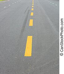 asfalt droga