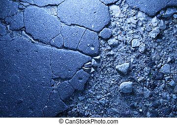 asfalto, marciapiede, struttura, fondo
