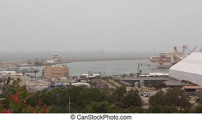 Ashdod port - Shot of Ashdod port