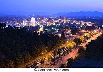 asheville, スカイライン