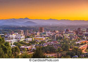 Asheville, North Caroilna, USA Skyline - Asheville, North...