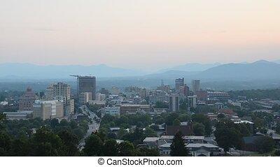 Asheville North Carolina - Cityscape of Asheville, North...