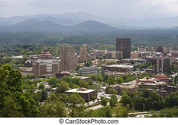 Asheville North Carolina Skyline