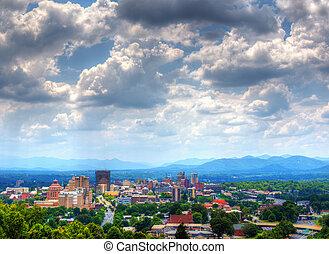 Asheville Skyline - Asheville, North Carolina skyline...