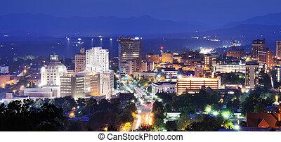 asheville, skyline