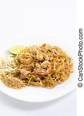 asiático, cojín tailandés