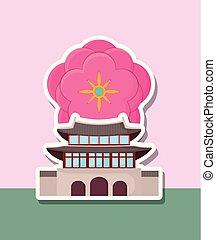 asia, arquitectura, diseño