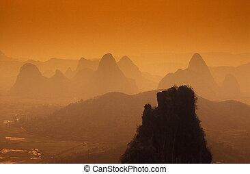 asia, china, guilin
