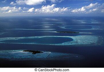 ASIA INDIAN OCEAN MALDIVES SEASCAPE - the seascape of the...