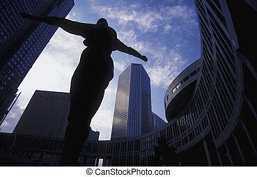 ASIA JAPAN TOKYO - the Tokyo Metropolitan Goverment Offices...