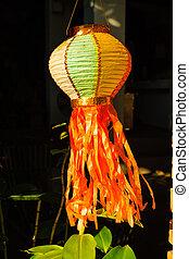 Asia lantern at Festival Chiang Mai