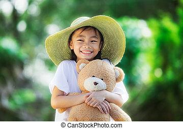 Asia little girl
