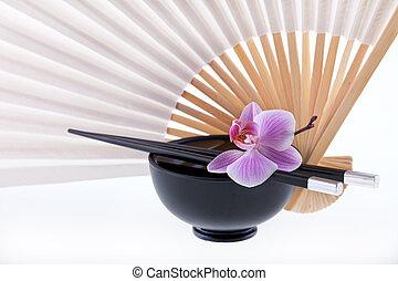 Asia still life orchid