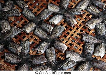 ASIA THAILAND BANGKOK NONTHABURI MARKET - fish at the...