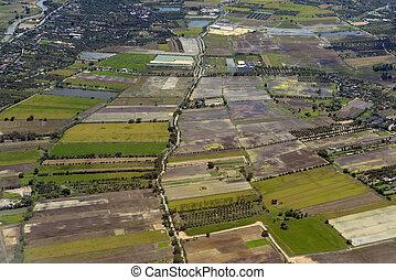 ASIA THAILAND CHIANG MAI WAT PHAN TAO - agraculture near in...