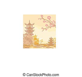 Asian beautiful landscape