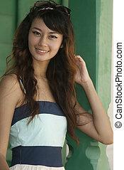 Asian beautiful