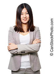 Asian business lady