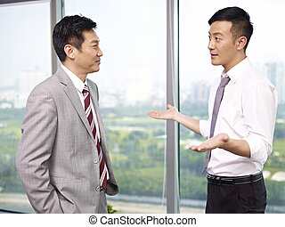 asian business people - asian businessman standing and ...