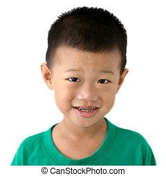 Asian child portrait