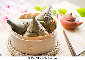 Asian Chinese Rice Dumplings - Asian Chinese rice dumplings...