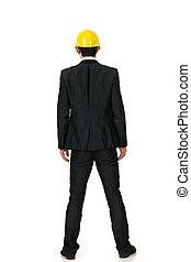 Asian construction man