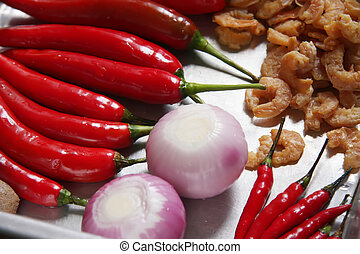 Asian cooking ingredients - Fresh asian cooking ingredients...