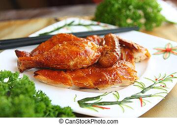 Asian Crispy Chicken - Delicious crispy chicken oriental...