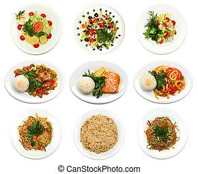 Asian cuisine - food - Asian cuisine - gourmet food on plate...